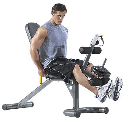 Gold s Gym xrs20 peso banco - GGBE1486, Gris: Amazon.es: Deportes y aire libre