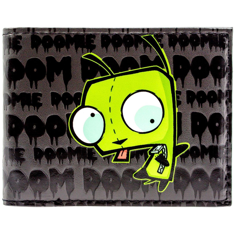 Cartera de Nickelodeon Invader Zim Muerte inminente Negro ...