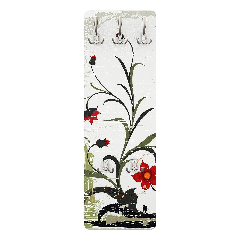 Perchero de diseño de Flor de Pale 139 x 46 x 2 cm, COATRACK, Perchero de Pared, Perchero, Perchero de Pared, Perchero, Perchero de pie