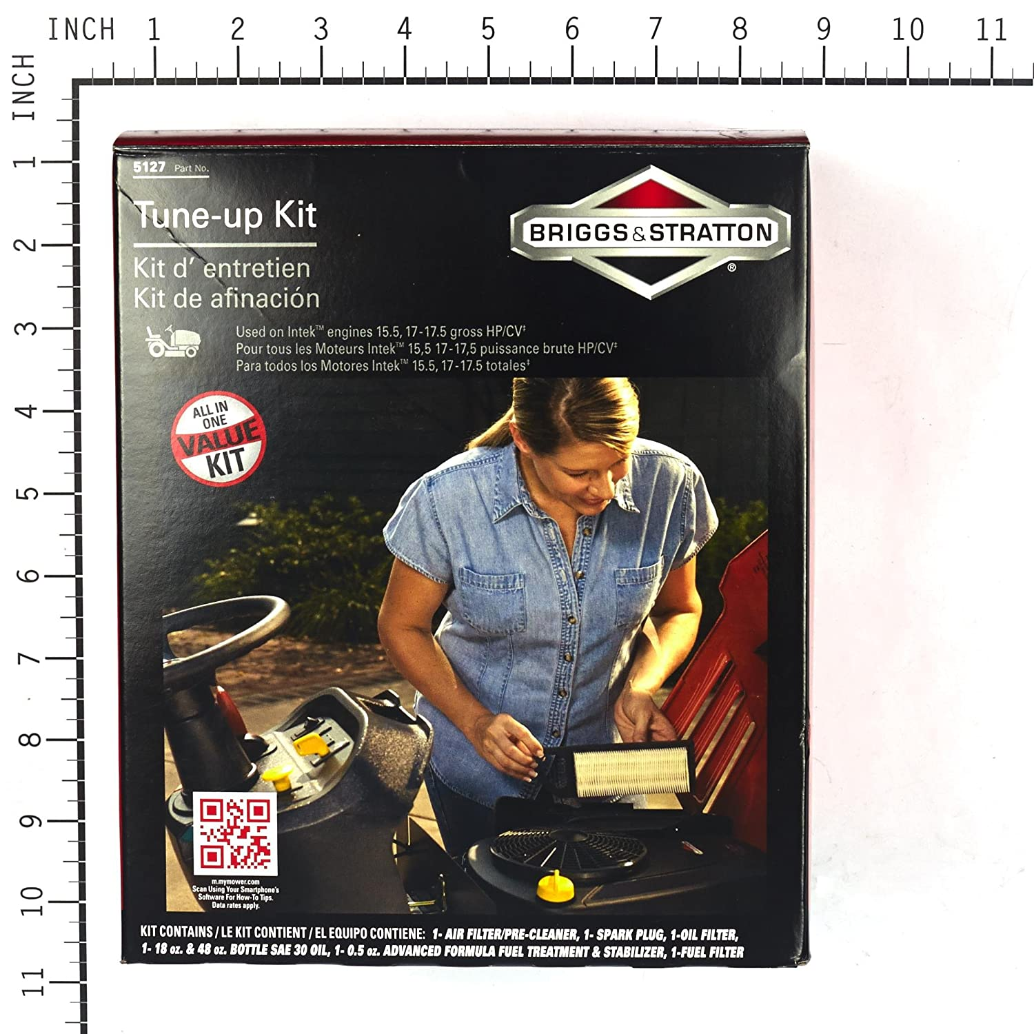 Troy bilt chipper wiring diagram troy free image about wiring - Amazon Com Briggs Stratton 5127b Tune Up Kit Lawn Mower Tune Up Kits Garden Outdoor