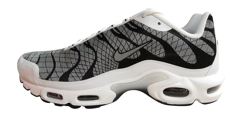 Nike Luft Max Plus JCRD Herren Laufschuhe 845006 Turnschuhe  40.5 EU white white black 100