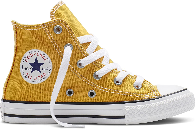 Naranja Solar Zapatos inversos de Chuck Taylor All Star Scarpa Alta Tela 351169C