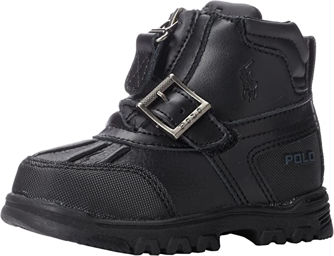 NEW Ralph Lauren Polo Lia Faux Leather Girls Toddler Kids Sandal Shoe Sz:9