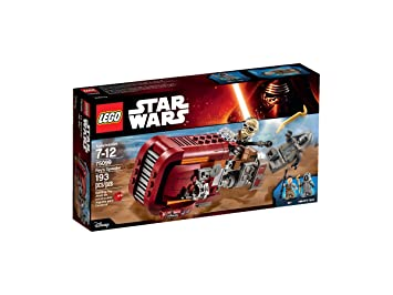 75099 Building Lego Speeder Et Wars KitJeux Star Rey's Ybf76gy