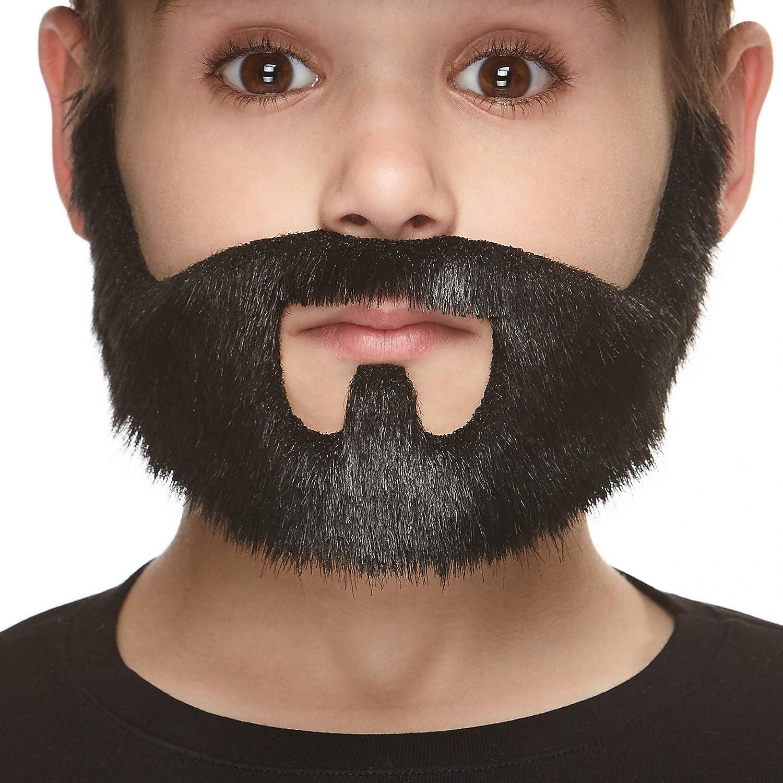 "1st Class Post Fake Joke Fancy Dress Costume Stick-On Moustache **12 designs/"""