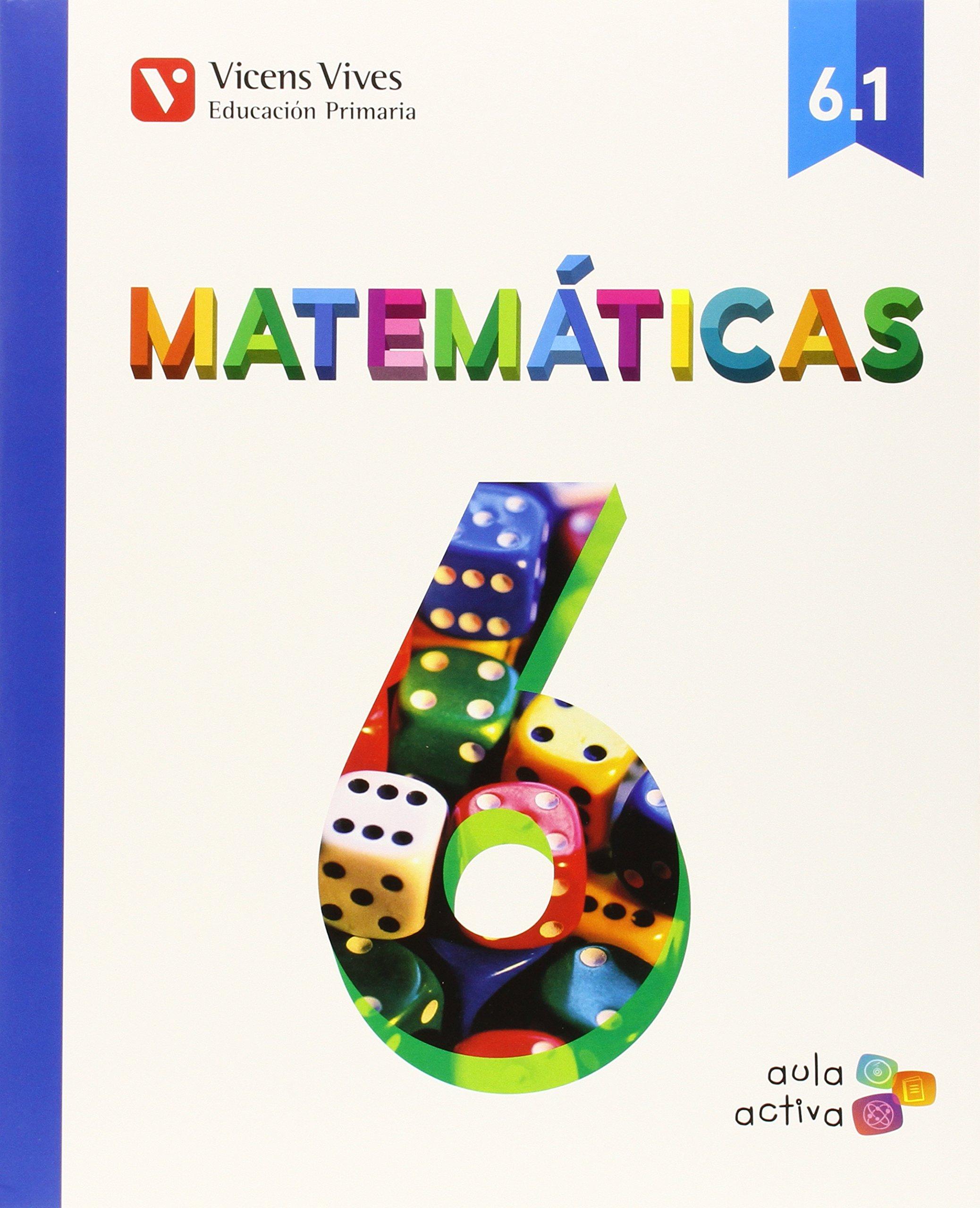 Download MATEMATICAS 6ºEP TRIMESTRES MEC 15 AULA ACTIVA VICMAT16EP pdf epub