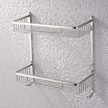 Amazon.com: KES baño rectangular – Soporte para pasteles (2 ...