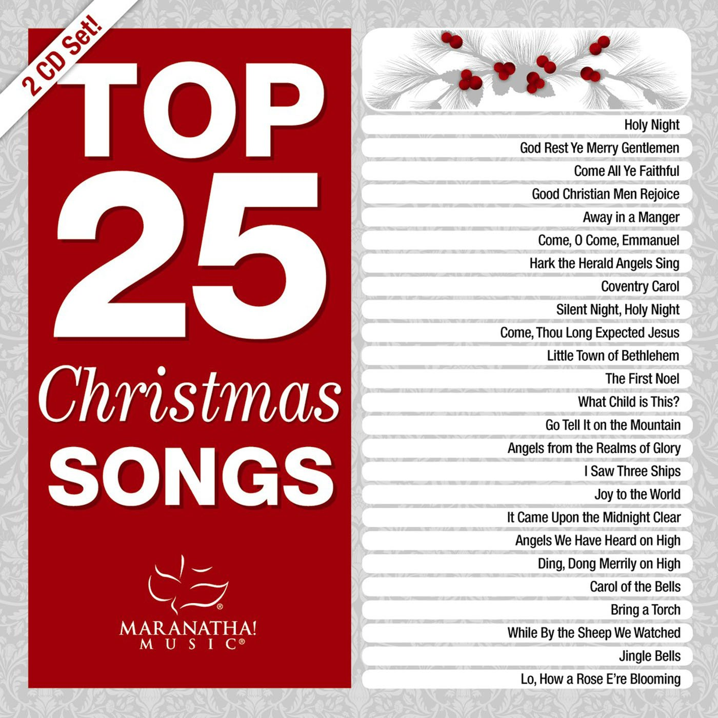 Various Artists - Top 25 Christmas Songs - Amazon.com Music