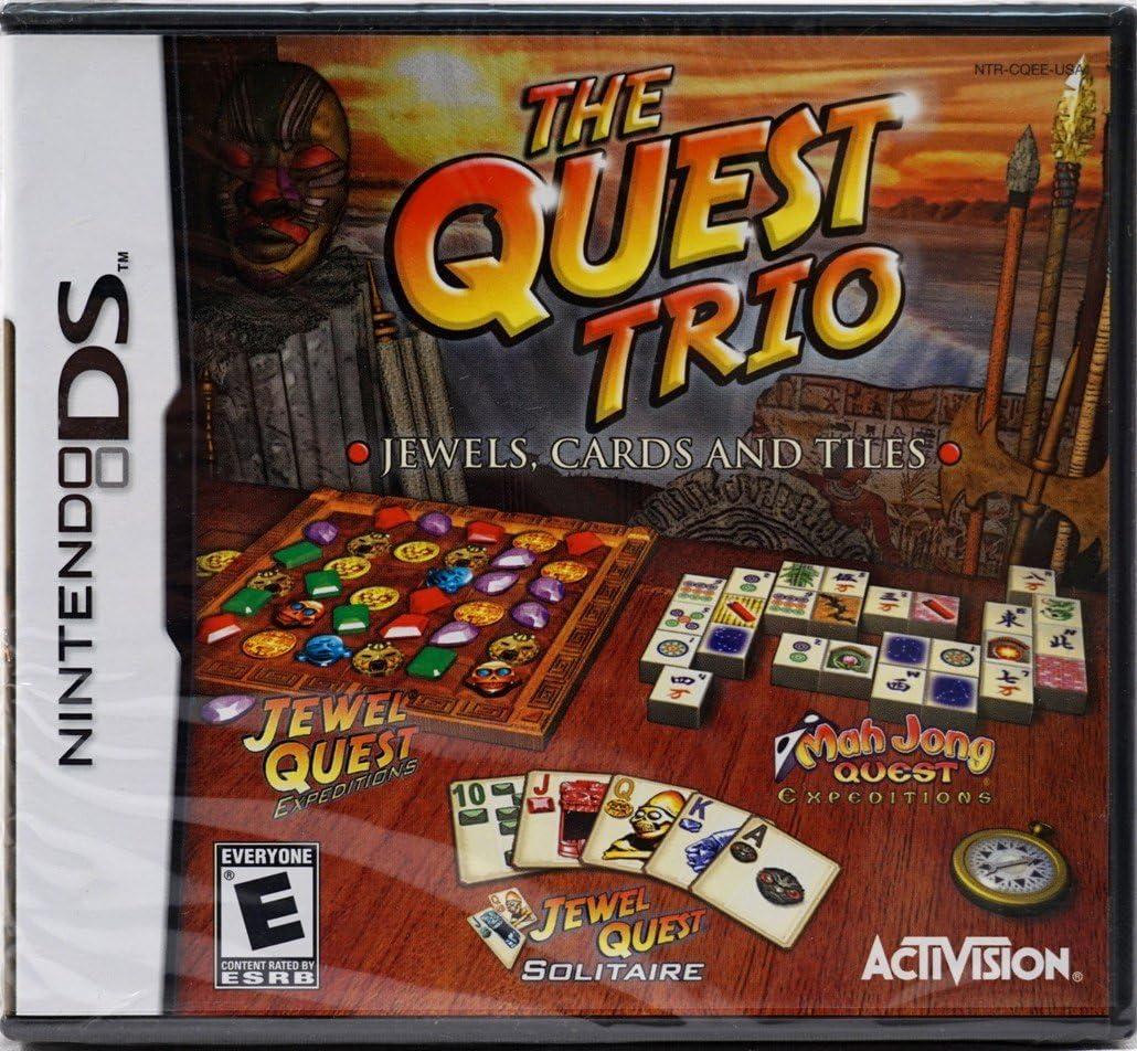Amazon com: Quest Trio - Nintendo DS: Artist Not Provided