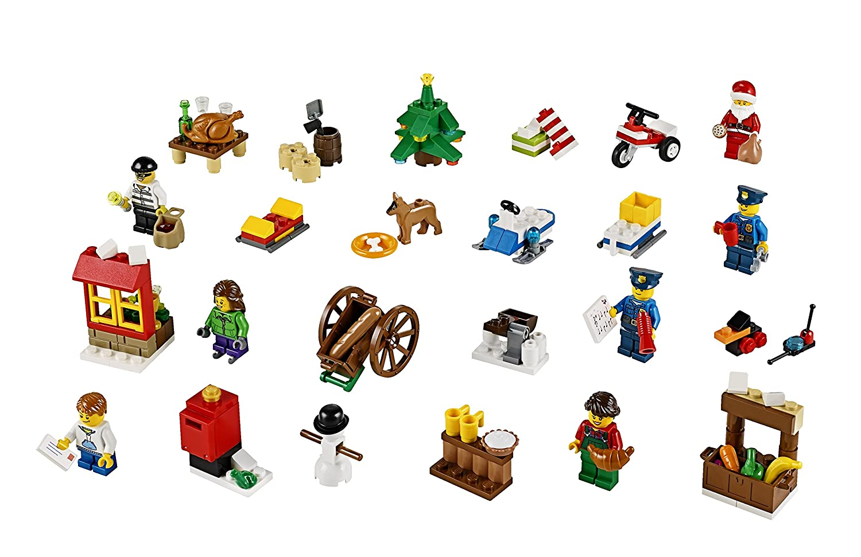 Amazon.com: LEGO City Town Advent Calendar Stacking Toy 60063 ...