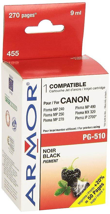 ARMOR K20281 Negro cartucho de tinta (para Canon PG-510 de 9ml ...