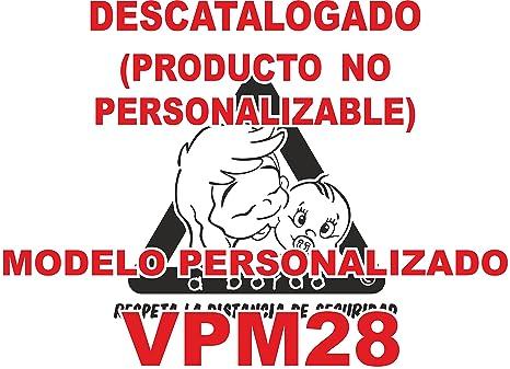 Adhesivo personalizado Bebé a bordo VPC28. DISEÑO EXCLUSIVO ...