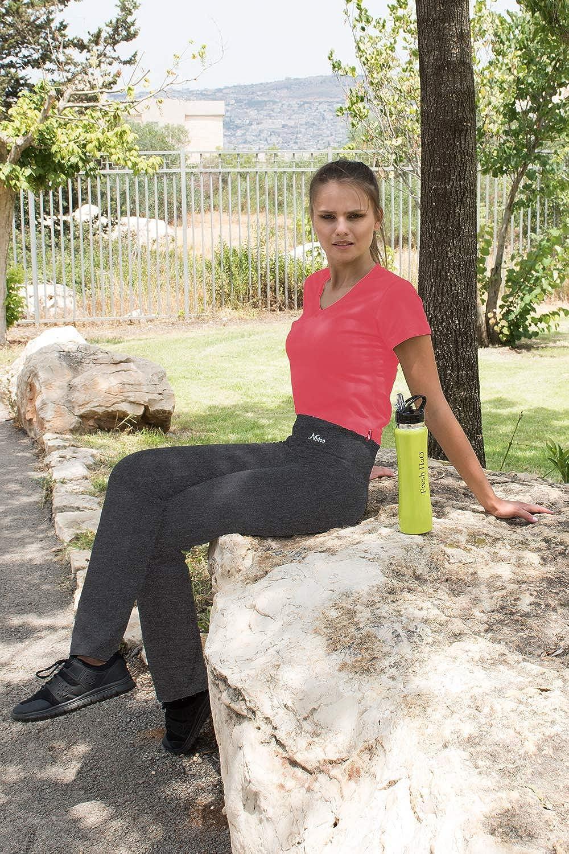 0c640ff39f15fa Clothing & Accessories Women NIRLON Yoga Pants for Women Best Black  Leggings Straight Leg 28/30/32/34 Inseam Length Regular ...