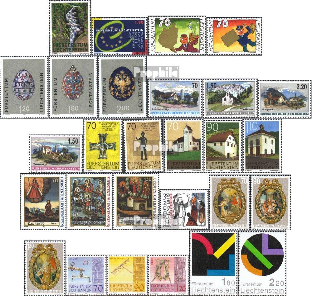 Prophila Collection Liechtenstein 1255-1282 (Completa.edición.) año 2001 completaett 2001 EuropUn, Huevos de PUnscuUn, rheinberger u.Un. (Sellos para los coleccionistas)