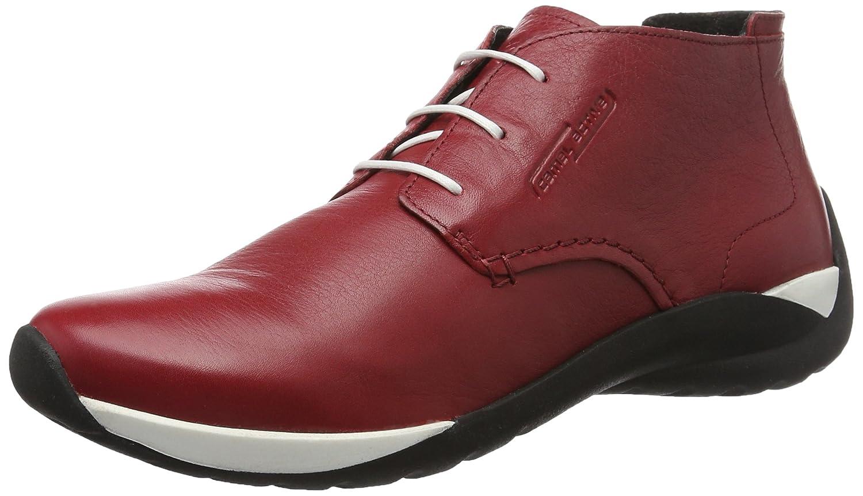 Camel Active 844.73, Zapatos Derby Mujer 40.5 EU|Rojo (Red 03)