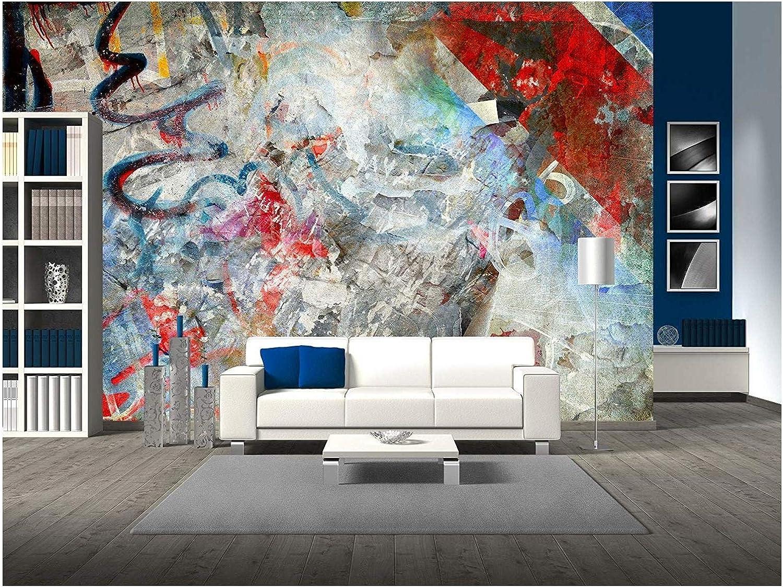 Graffiti Personalised Adhesive Wallpaper Backdrop Feature Wall Mural Decal Print