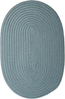 product image for Colonial Mills Floor Decorative Boca Raton Federal Blue 5'x8' - Oval Rug
