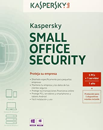 Kaspersky Small Office Security 3.0 - Antivirus, 1 Servidor + 5 Puestos