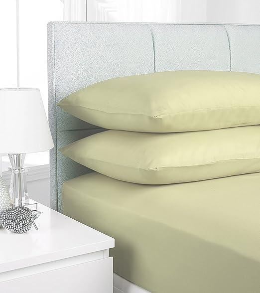 Sleepdove - Sábanas bajeras ajustables, 100 % algodón egipcio, 200 ...