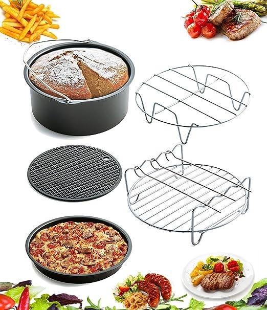 Amazon.com: Must Have 5 pieza Air Freidora accesorios para ...