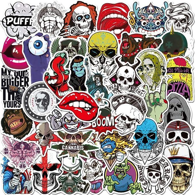 50Pcs Tarot Card Stickers Skateboard Laptop Luggage Guitar Motorcycle Decal/_BE