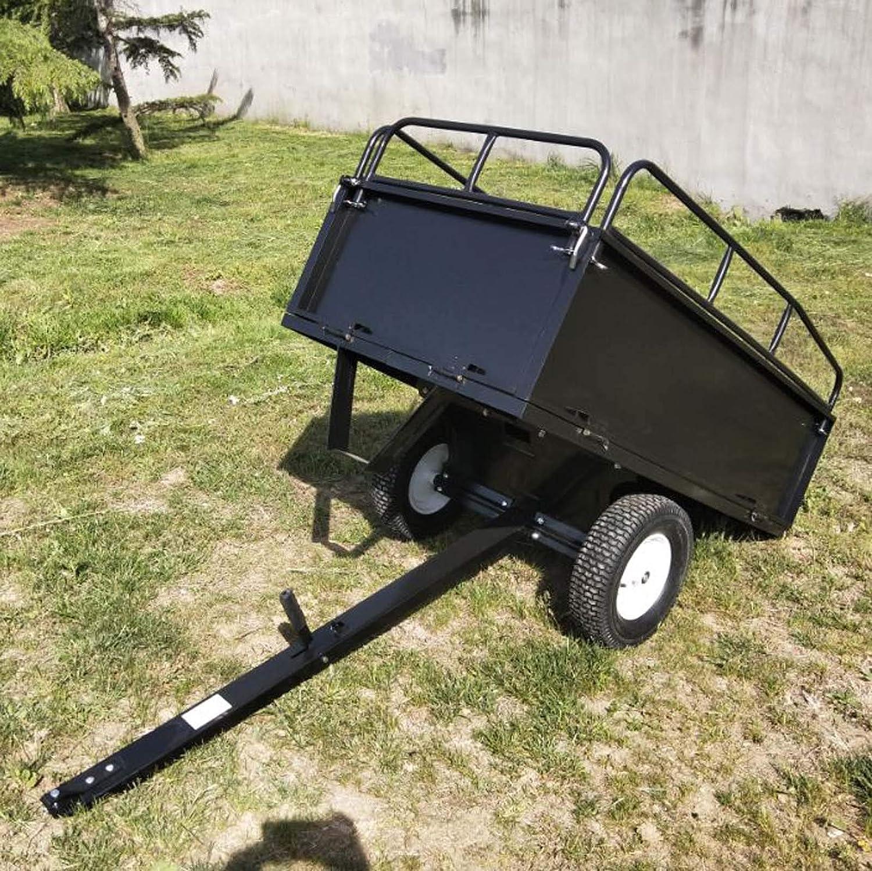 Kippanhänger 114x76x30cm abnehmbare Seitenwänden Anhängerverbindung Traktor
