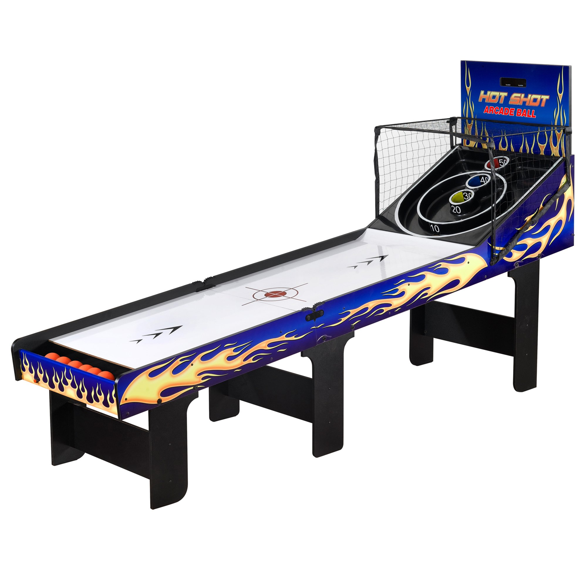 Hot Shot 8-ft Arcade Ball Table by Hathaway