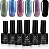 Beetles Chameleon Gel Polish Set - Pack of 6 Colors - Long Lasting Soak Off UV LED Gel, 7.3ml Each Bottle