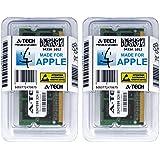 A-Tech For Apple 8GB Kit 2x 4GB PC3-8500 Mac mini iMac Mid 2009 Late 2009 Early 2009 MB419LL/A A1225 MB420LL/A MC015LL/A A1224 MC015LL/B MB463LL/A A1283 MC238LL/A MC239LL/A MC408LL/A Memory RAM