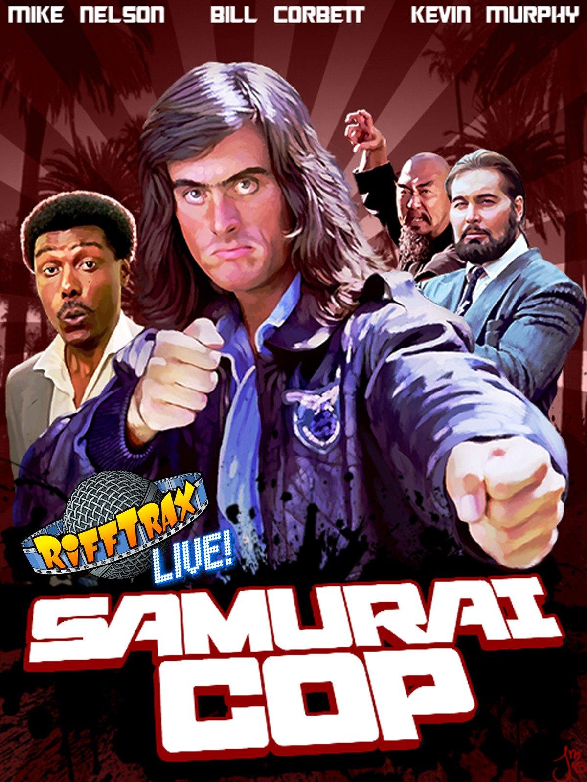 RiffTrax Live: Samurai Cop on Amazon Prime Video UK