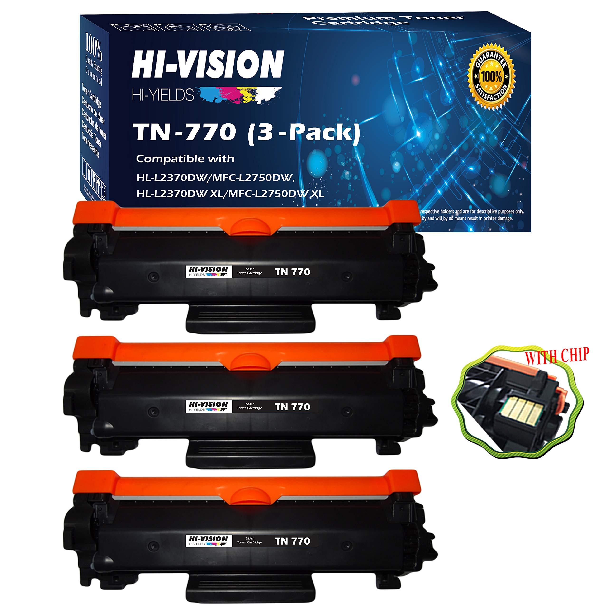 Toner Alternativo ( X3 ) Alta Capacidad Negro 3 TN-770 TN...