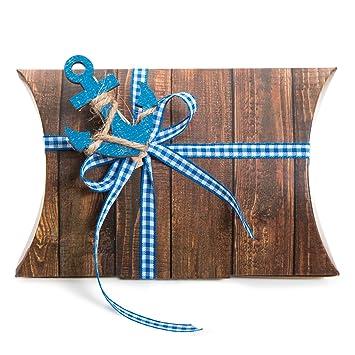 12 pequeñas marrón regalo de caja Caja de cartón de regalo Box (14,5