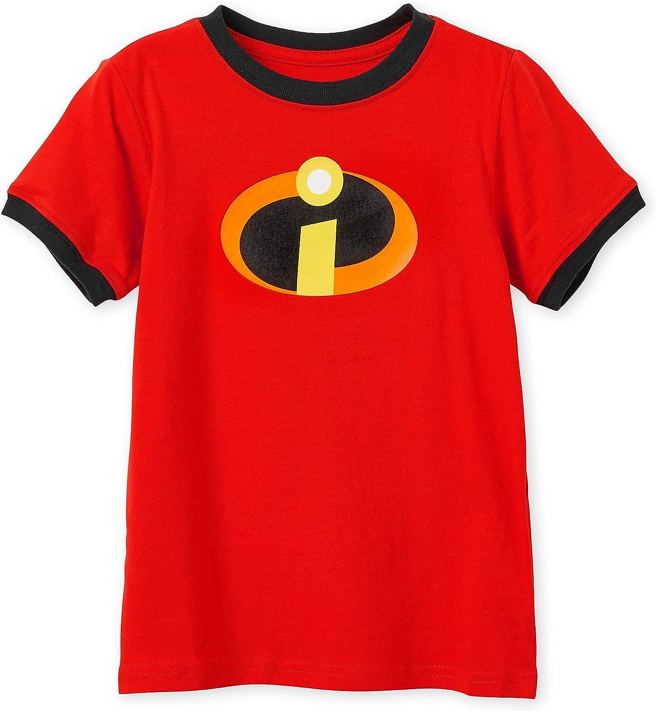 Disney Incredibles Logo Ringer T-Shirt for Kids Multi