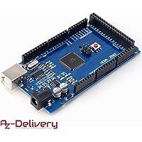 AZDelivery ⭐⭐⭐⭐⭐ Mega 2560 R3 Board mit ATmega2560, 100% Arduino kompatibel mit gratis eBook!