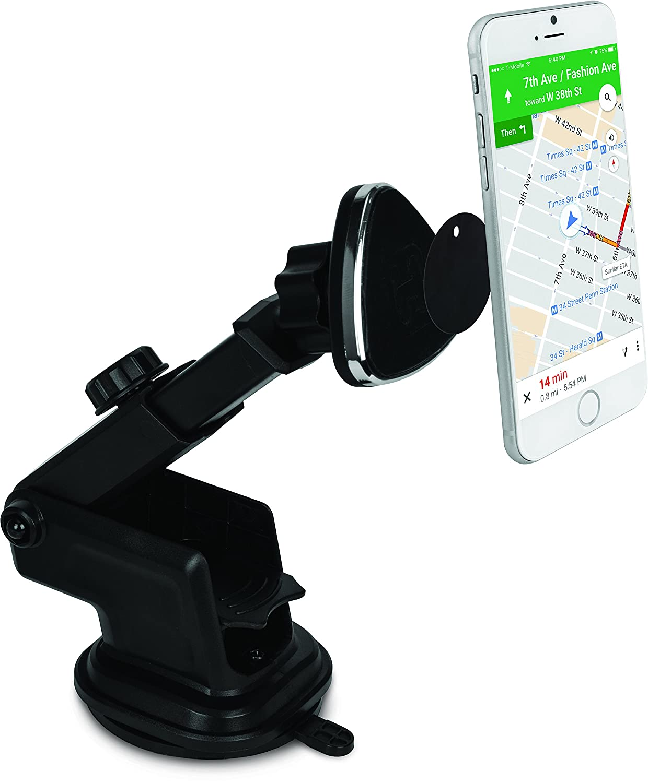 iHome Magnetic Car Dash Phone Mount - Black