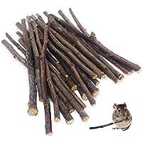 William Craft (100g Apple Sticks Pet Chew Toys Treats for Chinchilla Guinea Pigs Rabbits Squirrel Hamster