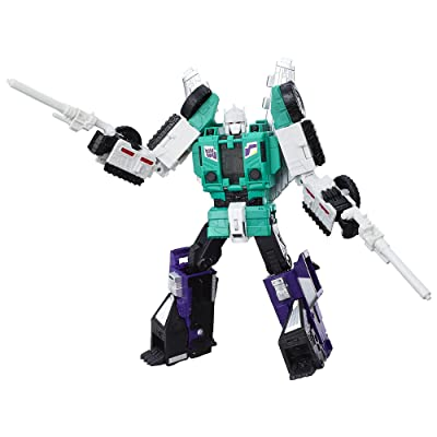 Transformers Generations Titans Return Six Shot and Decepticon Revolver: Toys & Games