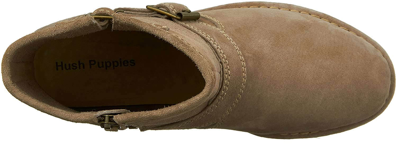 Bota Atelyin Catelyn para mujer Hush Puppies Taupe Suede 487d4d6067020