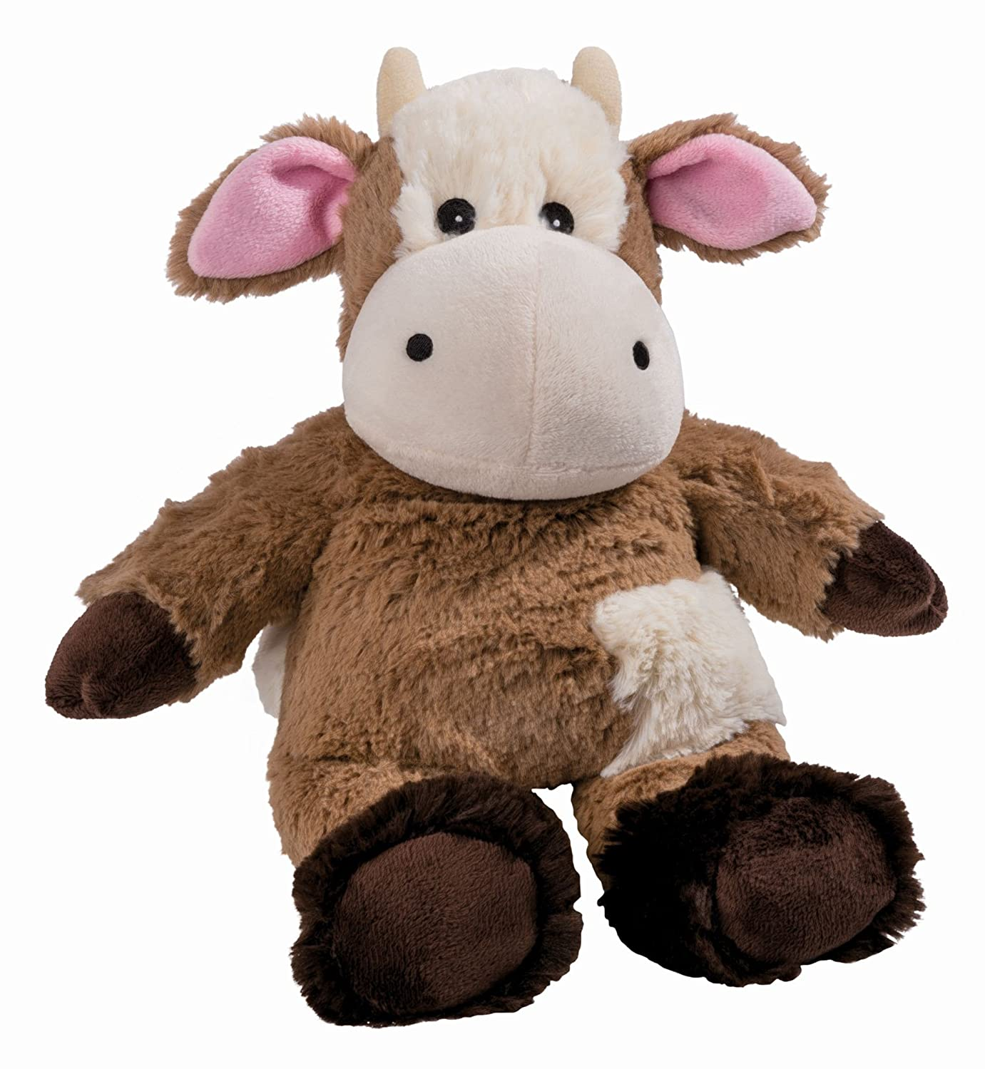 Warmies Beddy Bears Cocoa Cow with Lavender Scent Brown BabyCenter 01091