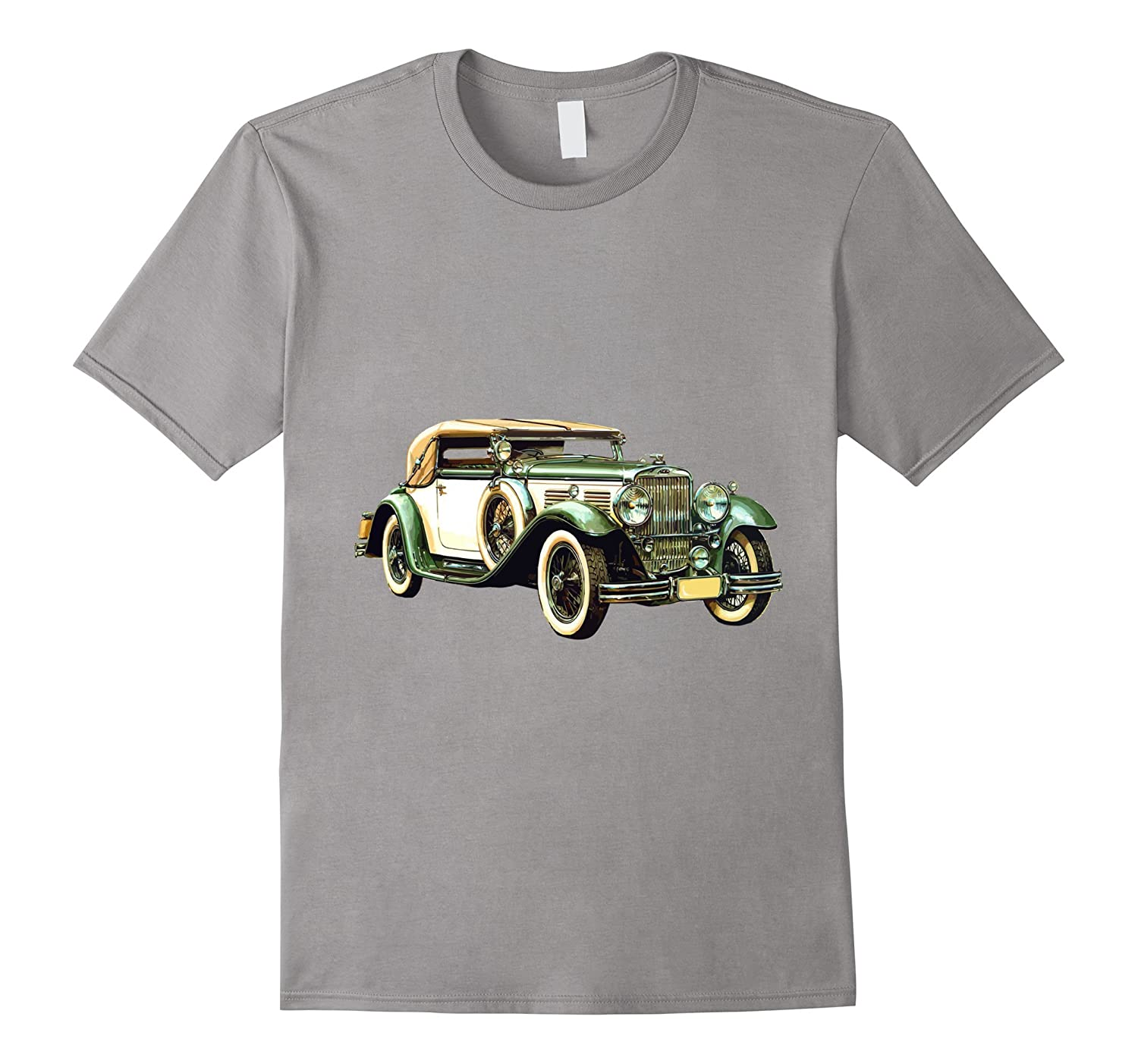 Classic Car T Shirt Vintage Automobile Convertible 3d