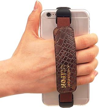WiLLBee CLIPON 4~6 pulgada (Marrón Especial) Smartphone Correa de ...