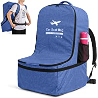 Luxja Car Seat Travel Bag, Car Seat Airplane Bag with Padded Backpack Straps and Adjustable Waist Straps, Car Seat Bag…