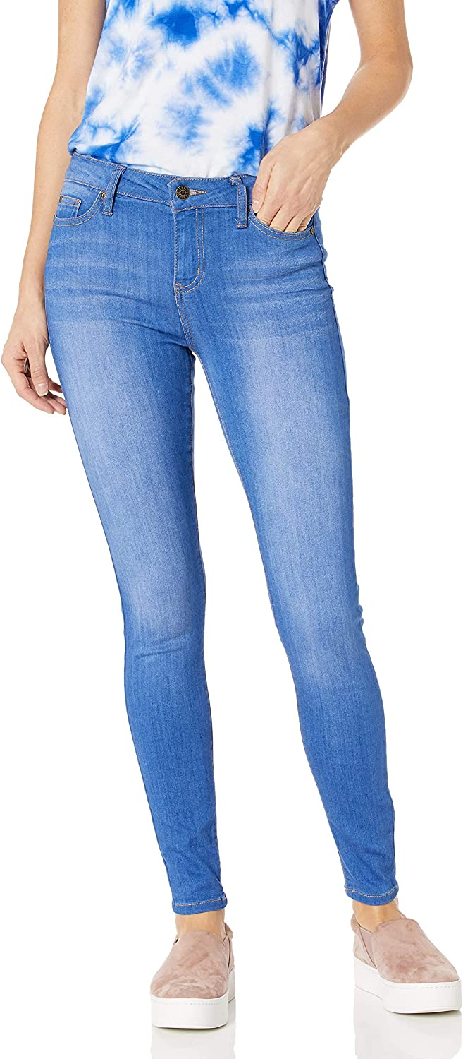Celebrity Pink Jeans Women's Infinite Stretch Mid Rise Skinny Jeans