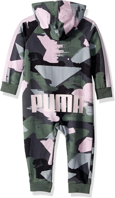 PUMA Girls Baby Fleece Coverall 18M