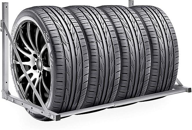 Hehilark Wand Reifenhalter Reifenhalter Wandmontage Reifenhalter Set Reifenwandhalter Für Auto Felgen Reifen Wandhalterung Einfach Anzubringen Auto