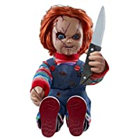 Spirit Halloween 2 Ft Talking Chucky Doll Decoration | Officially Licensed…