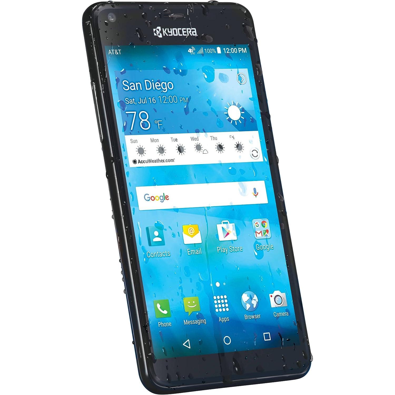 Kyocera Smartphone de AT & T Hydro Shore gophone de prepago Negro ...