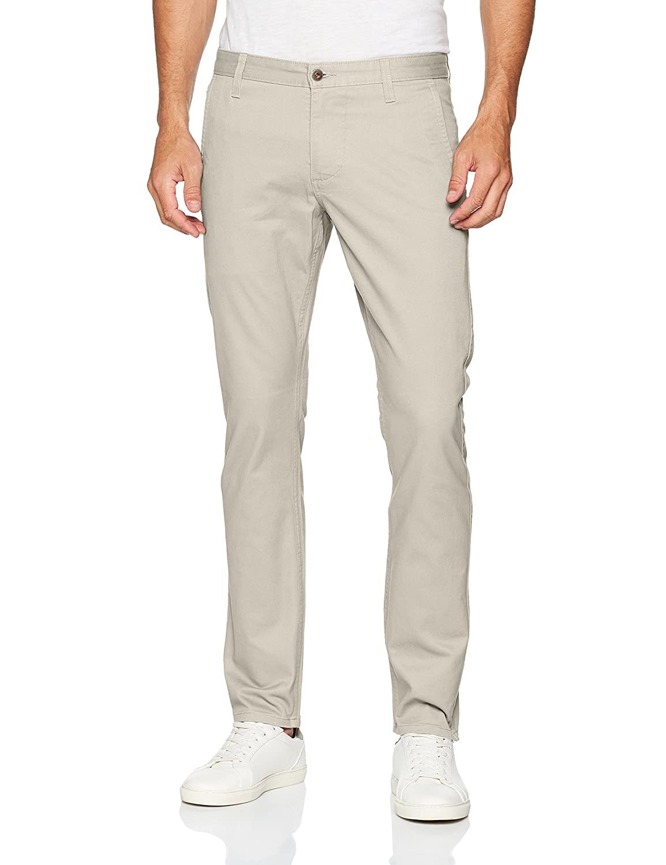 Alpha Original Khaki Skinny-Stretch Twill, Pantalones para Hombre, Gris (Quiet Gray 0203), W29/L32 Dockers