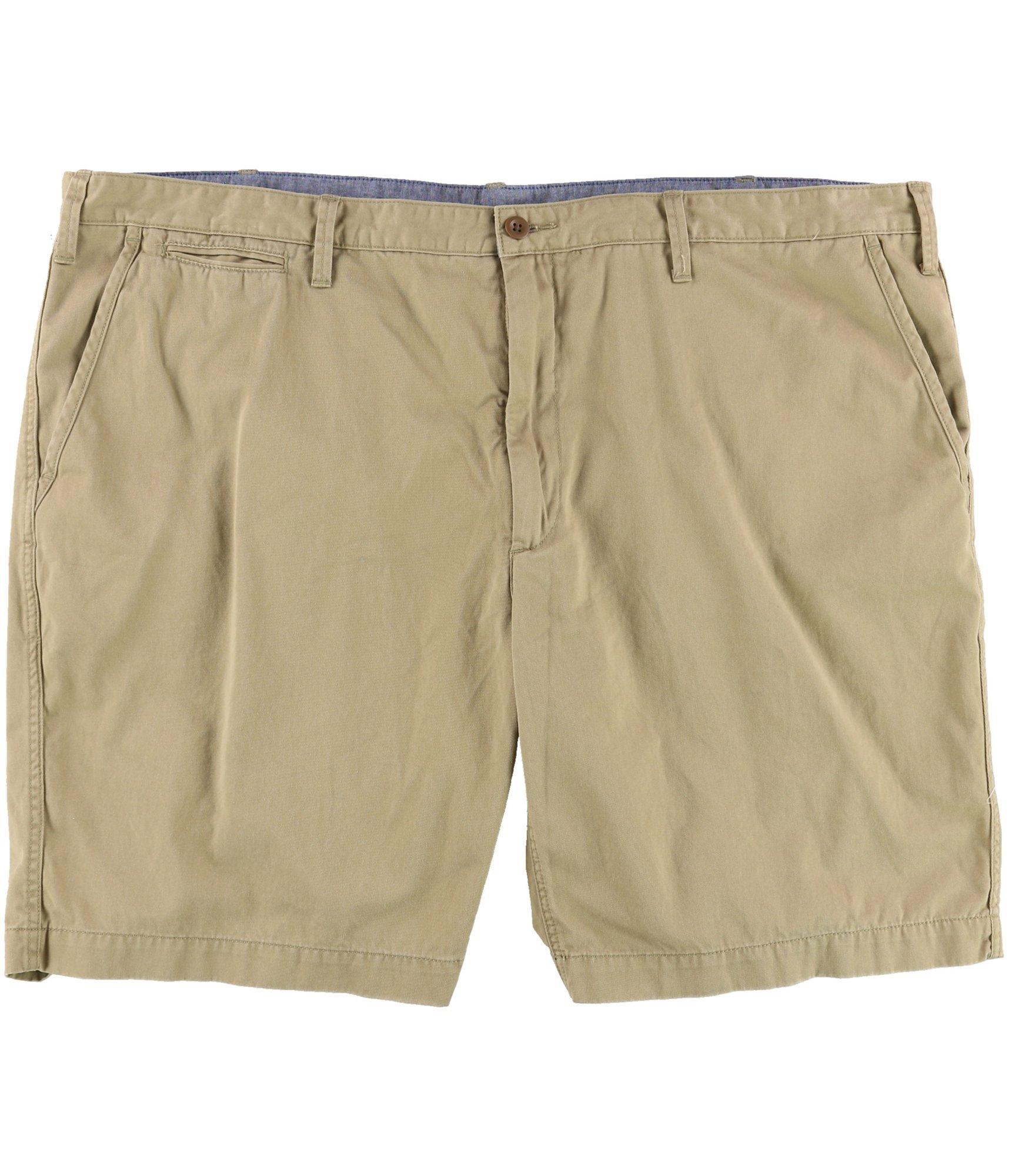 Polo Ralph Lauren Mens Big & Tall Twill Classic Fit Khaki Shorts (54 Big, Boating Khaki)