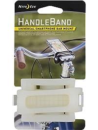 Nite Ize HandleBand Universal Smartphone Bike Handlebar Mount, Clear